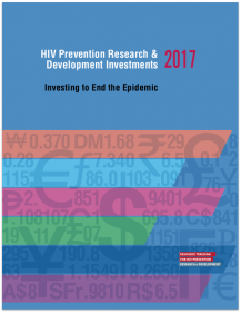 HIV Prevention Research & Development Investments 2017