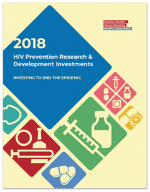 HIV Prevention Research & Development Investments 2018